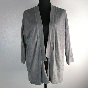 Zara open front cardigan. Front pockets 3/4 Sleeve